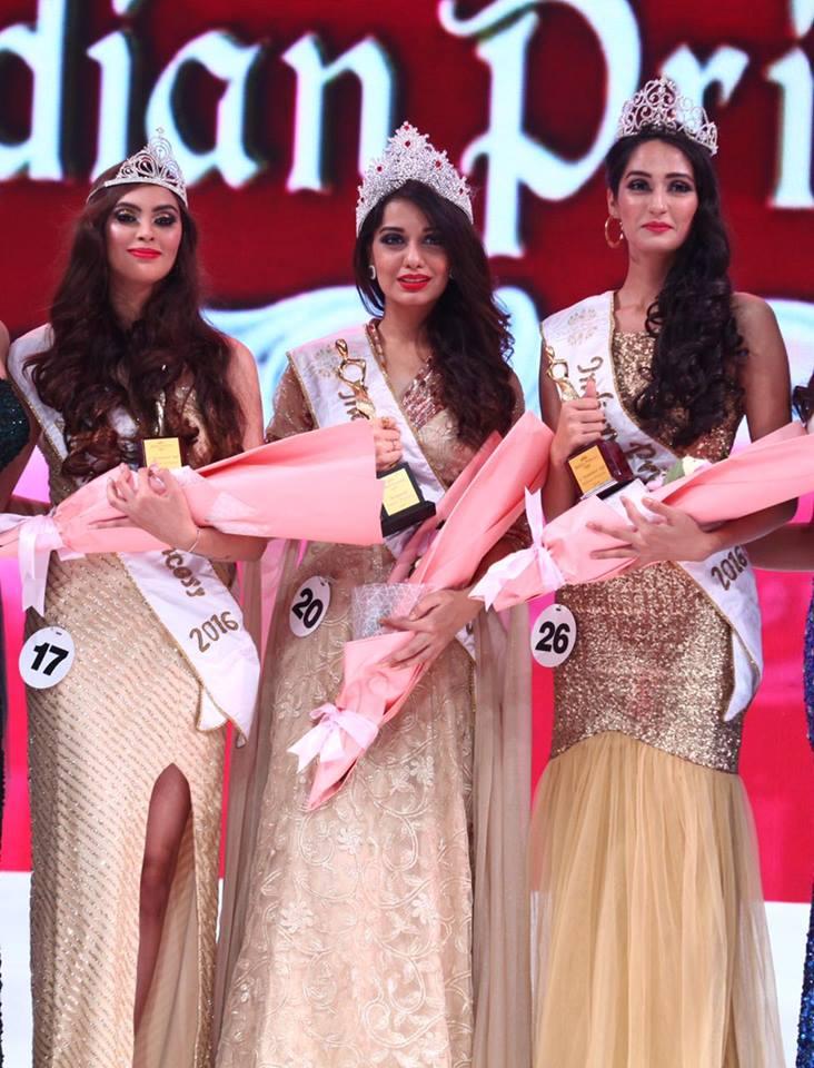 Divya Agarwal from Mumbai wins Indian Princess 2016