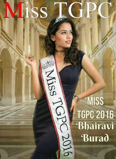 Bhairavi Burad, Miss TGPC 2016