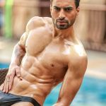 Dev Paimal during Mr.India 2016 Bare Body Photo Shoot