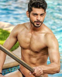 Devesh Khanduja during Mr.India 2016 Bare Body Photo Shoot