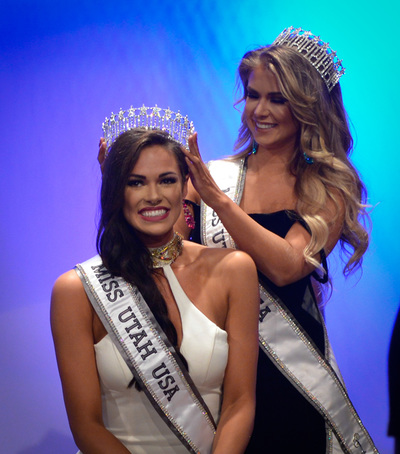 Baylee Jensen won Miss Utah USA 2017 will represent Utah at Miss USA 2017