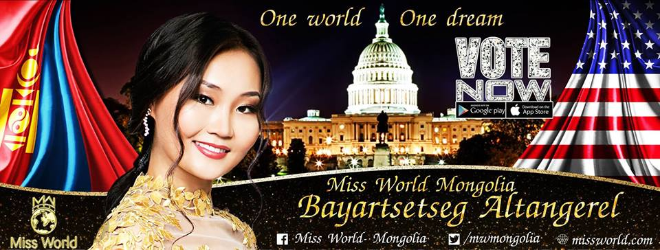 Bayartsetseg Altangerel from Mongolia wins 'Miss Popularity' by TGPC