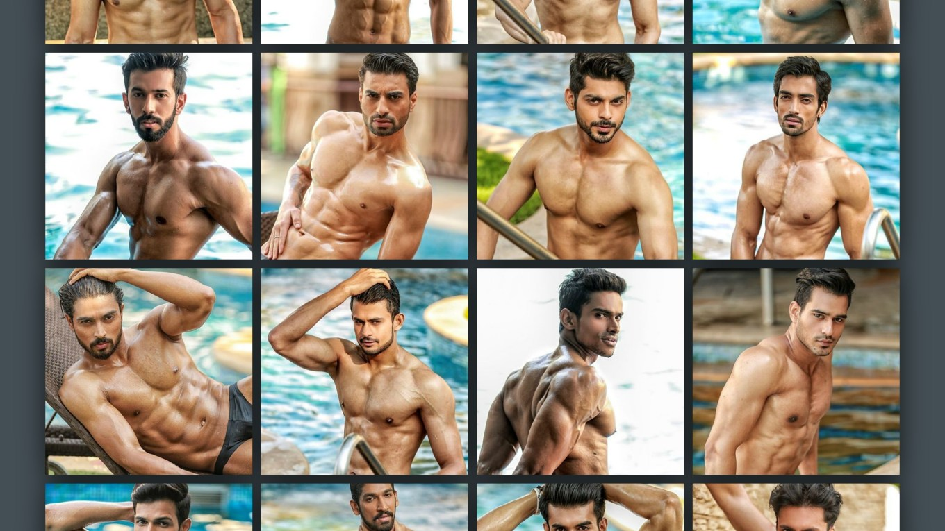 Peter England Mister India 2016 Bare Body Photoshoot