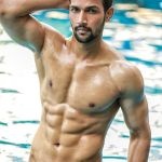 Sourabh Arya during Mr.India 2016 Bare Body Photo Shoot