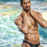 Tejas Ravishankar during Mr.India 2016 Bare Body Photo Shoot