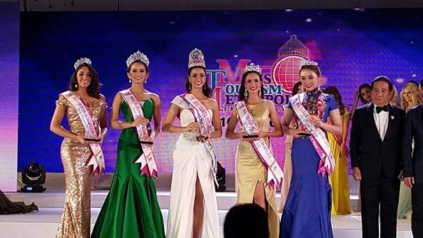 Chalisa Amanda of Thailand is Miss Tourism Metropolitan International 2016