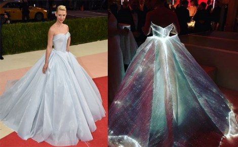 THE WORLD WITNESSED CLARE DANE'S GLOWING GOWN BY ZAC POSEN AT MET GALA'16, IN AWE!!