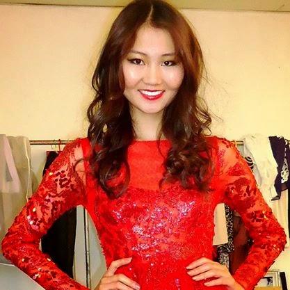 Miss Mongolia: Bayartsetseg Altangerel