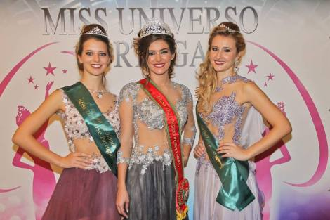 Flávia Joana Brito crowned as Miss Universe Portugal 2016
