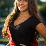 Raphaella Deuringeris one fo the Miss Belgium 2017 contestant