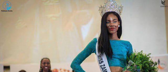 Louisa Josephs Chingangu is Miss Zambia 2017