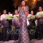 Miss British Virgin Islands-Erika Creque during terno fashion show