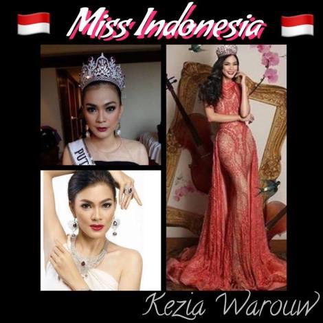 Miss Indonesia, Kezia Warouw