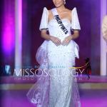 Miss Philippines-Maxine Medina during terno fashion show