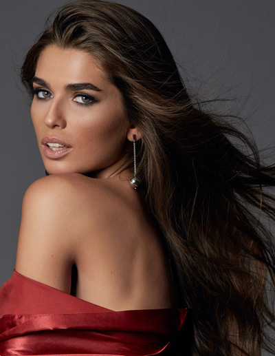 Miss Argentina-Estefanía Bernal during Miss Universe 2016 glamshots