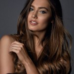Miss Australia-Caris Tiivel during Miss Universe 2016 glamshots