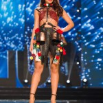 Miss Bulgaria Violina Ancheva during Miss Universe 2016 National Costume presentation