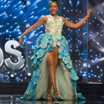 Miss Cayman Islands ,Monyque Brooks, during Miss Universe 2016 National Costume presentation