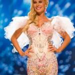Miss Denmark,Christina Mikkelsen during Miss Universe 2016 National Costume presentation