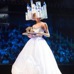 Miss Germany,Johanna Acs during Miss Universe 2016 National Costume presentation