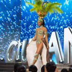 Miss Guyana,Soyini Fraser during Miss Universe 2016 National Costume presentation