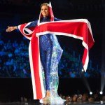 Miss Iceland ,Hildur Maria Leifsdottir during Miss Universe 2016 National Costume presentation