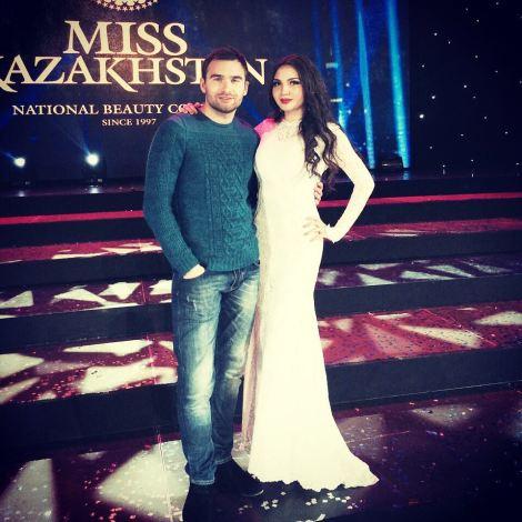 Darina Kulsitova is Miss Universe Kazakhstan 2016