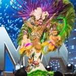 Miss Panama,Keity Drennan during Miss Universe 2016 National Costume presentation