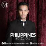 Miguel Guia is representing Philippines at Mister International