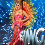 Miss Singapore,Cheryl Chou during Miss Universe 2016 National Costume presentation