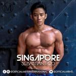 Sebastian Foo is representing Singapore at Mister International