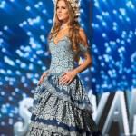 Miss Slovak Republic ,Zuzana Kollarova during Miss Universe 2016 National Costume presentation