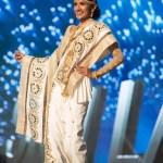 Miss Sri Lanka , Jayathi De Silva during Miss Universe 2016 National Costume presentation