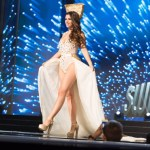 Miss Switzerland ,Dijana Cvijetic, during Miss Universe 2016 National Costume presentation