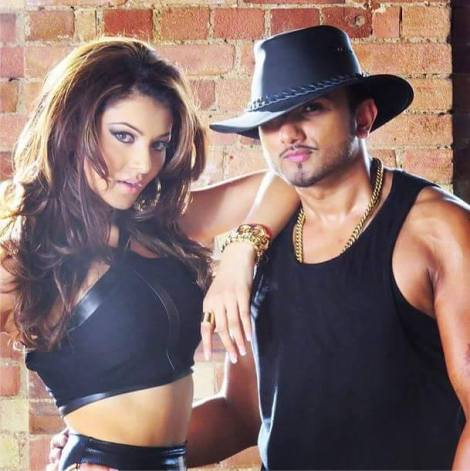 Urvashi Rautela & Honey Singh