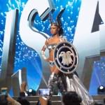 Miss USA,Deshauna Barber during Miss Universe 2016 National Costume presentation