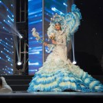 Miss Venezuela ,Mariam Habach during Miss Universe 2016 National Costume presentation