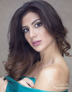 Jocelyn Mieles from Manta is one of the contestants of Miss Ecuador 2017