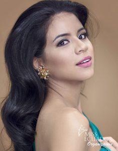 María Fernanda Muñoz from Vinces is one of the contestants of Miss Ecuador 2017