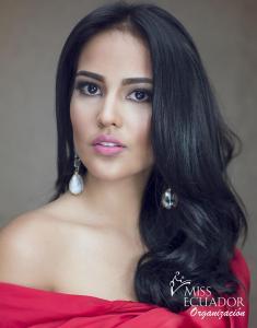 María José Villacis from Ibarra is one of the contestants of Miss Ecuador 2017