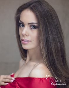 Wendy Carrillo fromQuito is one of the contestants of Miss Ecuador 2017