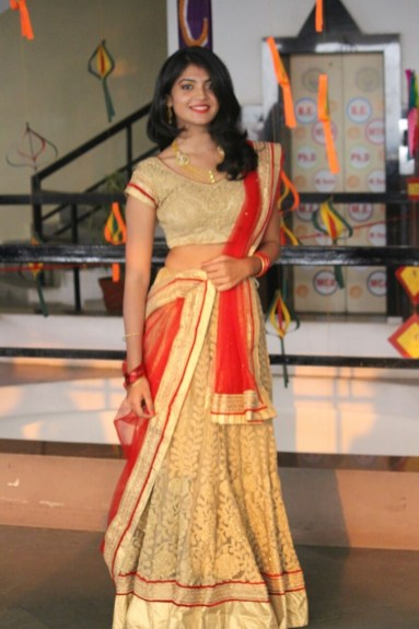 Vrushali Gaurkar during her Ethnic Round