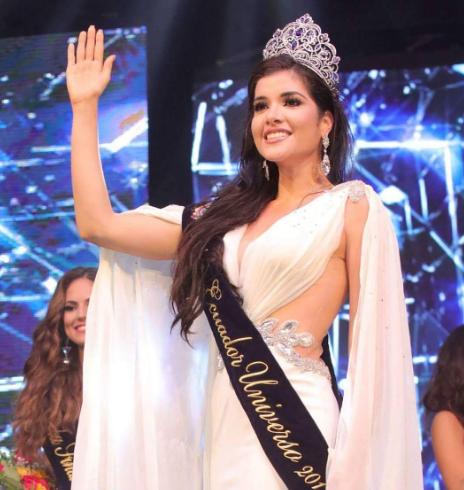 Daniela Cepeda crowned Miss Ecuador 2017!