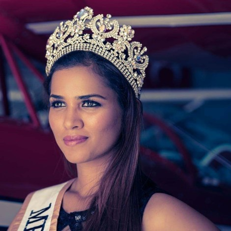 Ruth Perissinotto wins 'Miss Personality by TGPC' at World Supermodel India 2017 finale