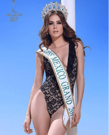 Yoana Gutierrez is Miss Grand Mexico 2017