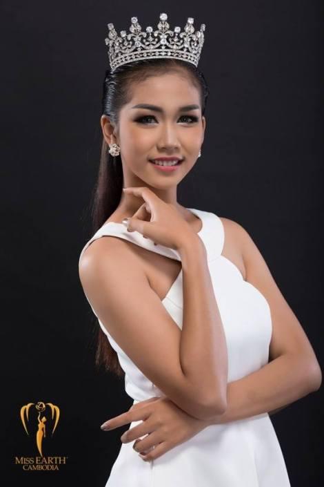Em Kun Thong is chosen as Miss Earth Cambodia 2017