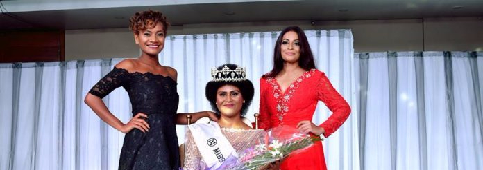 Nanise Rainima is Miss World Fiji 2017