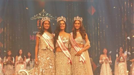 Manushi Chhillar from Haryana wins Femina Miss India 2017