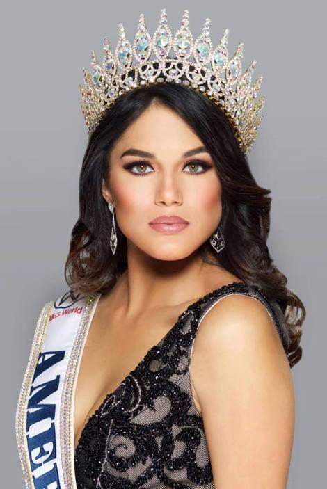 Miss World America 2016, Audra Mari