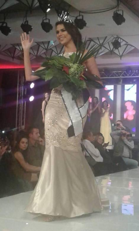 Suné January is chosen as Miss Namibia 2017